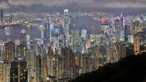 Hong Kong at night \ Asia-Pacific entrepreneurs trends by country